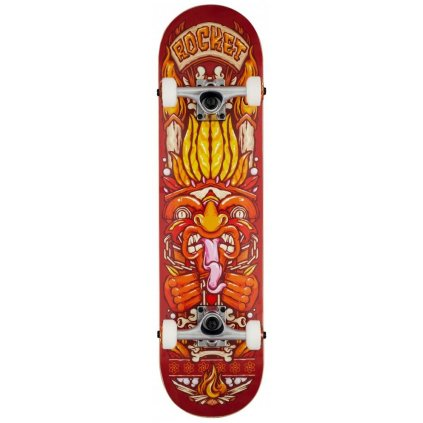 """Rocket - Chief Pile-up Red - 7.75"""" - skateboard"""