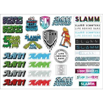 Slamm - Sticker Sheet - Samolepky