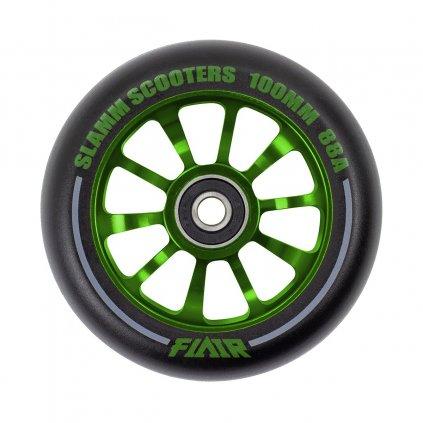 Slamm - Flair V2 Green 100 mm kolečka (1ks)