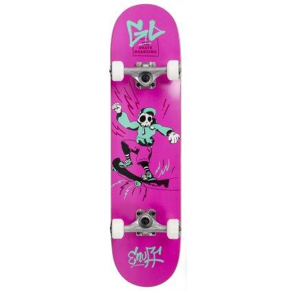 "Enuff - Skully Pink 7,75"" / 7,25"" - skateboard"