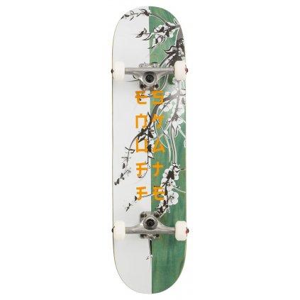 "Enuff - Cherry Blossom White/Teal 8"" - skateboard"