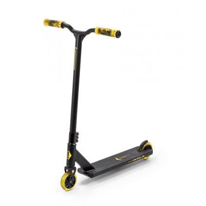 Slamm - Classic V8 - Black/Yellow - Freestyle koloběžka