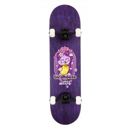 "Birdhouse - Stage 3 Armanto Maneki Neko Purple 8"" - skateboard"