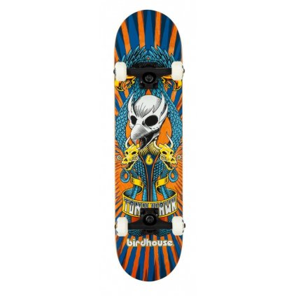"Birdhouse - Stage 3 Emblem Circus Orange 7.75"" - skateboard"