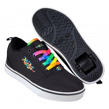 Heelys - Pro 20 - Black/Rainbow Cursive - koloboty