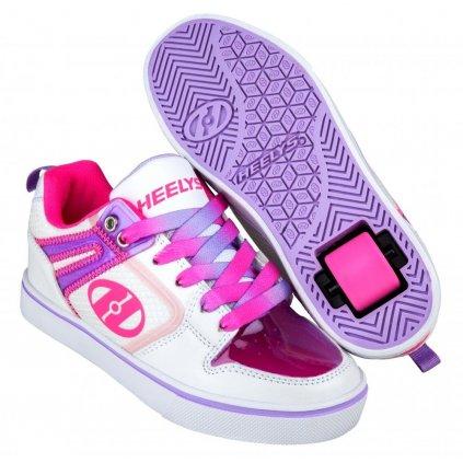 Heelys - Motion 2.0 White/Pink/Lavender - koloboty