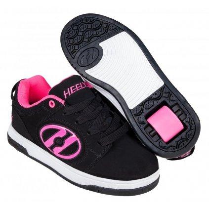 Heelys - Voyager Black/Pink - koloboty