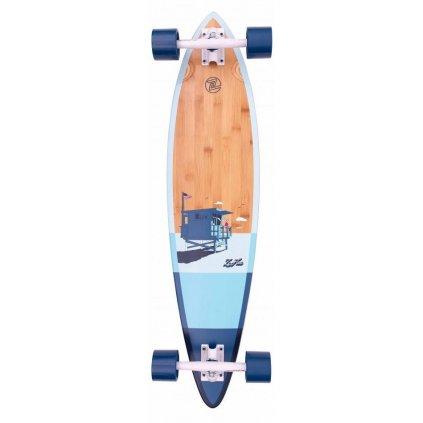 "Z-Flex - Bamboo Pintail 38"" Blue - longboard"