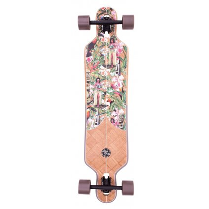 "Z-Flex - Banana Train DT 41"" Multi - longboard"