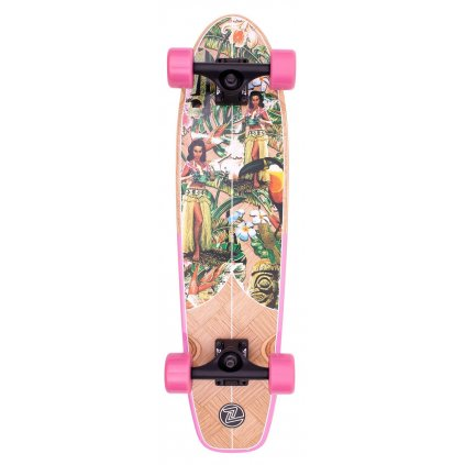 "Z-Flex - Banana Train Cruiser 29"" Pink - longboard"