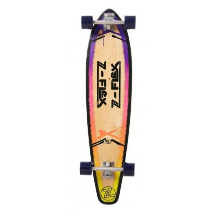 "Z-Flex - P.O.P Roundtail 39"" Purple - longboard"