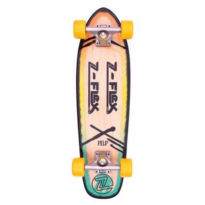 "Z-Flex - P.O.P Cruiser 27"" Rasta - longboard"