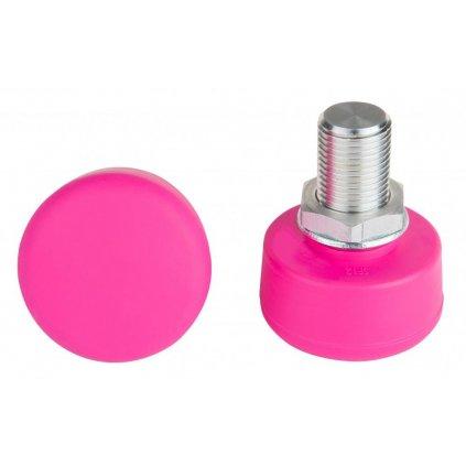 Rookie - Adjustable Stopper Pink - nastavitelná brzda na trekové brusle