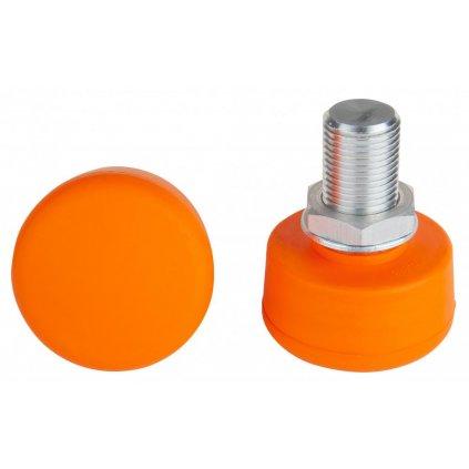 Rookie - Adjustable Stopper Orange - nastavitelná brzda na trekové brusle