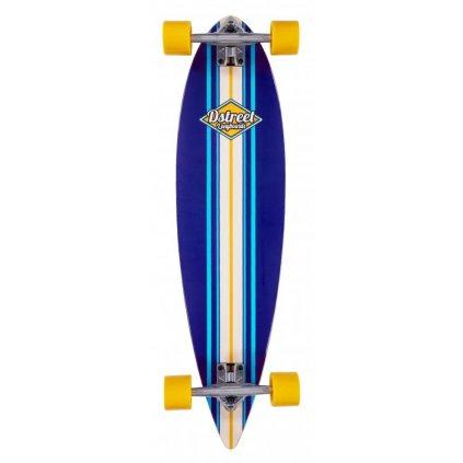 """D-Street - Pintail Ocean 35"""" - Blue - longboard"""