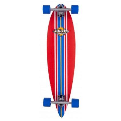 """D-Street - Pintail Ocean 35"""" - Red - longboard"""