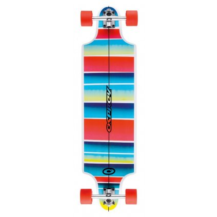 "Osprey - Twin Tip Stripe 38"" Blue/Red - Longboard"