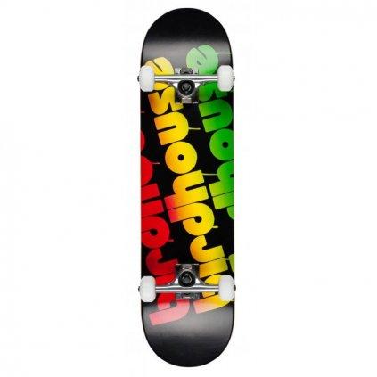 birdhouse stage 1 triple stack rasta 80 skateboard complete