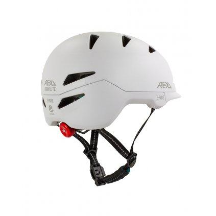 RKD360 REKD Urbanlite E Ride Helmet Stone Rear Angle