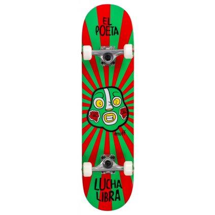 ENU2525 ENU2575 Enuff Skateboards Lucha Libre Red Green Main