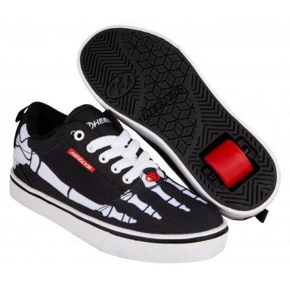 Heelys - Pro 20 Print Black/White/Red/Skeleton