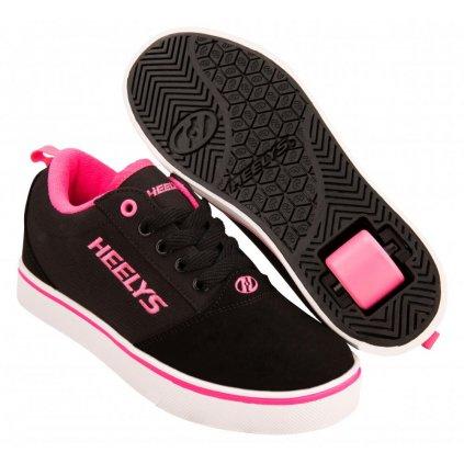 Heelys - Pro 20 Black/Pink/Nubuck