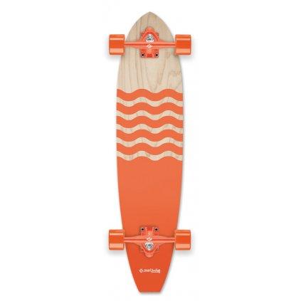"Street Surfing - Cut Kicktail 36"" BlownOut"