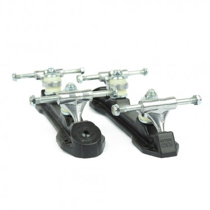 Rio Roller - Chassis Black/White - podvozek na trekové brusle - 2ks