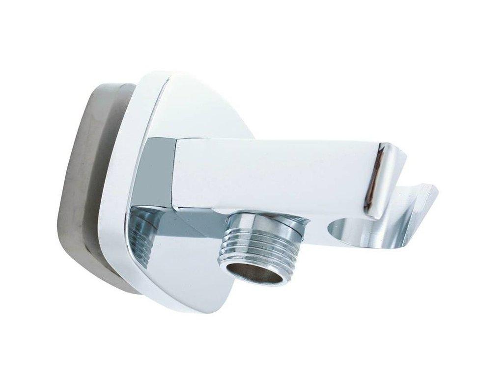 Slezák RAV MD0615 Držák sprchy s vývodem pro hadici chrom