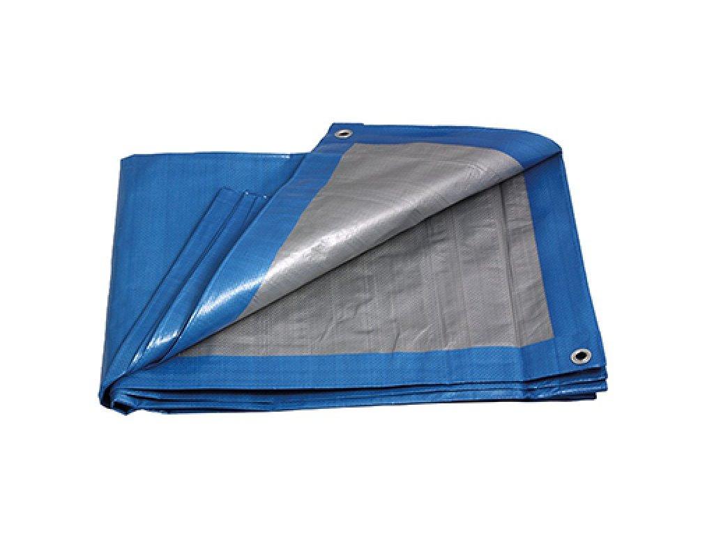 FESTA Zakrývací PE plachta s oky 140 g/m2 modrá 4 x 5 m / 20 m2