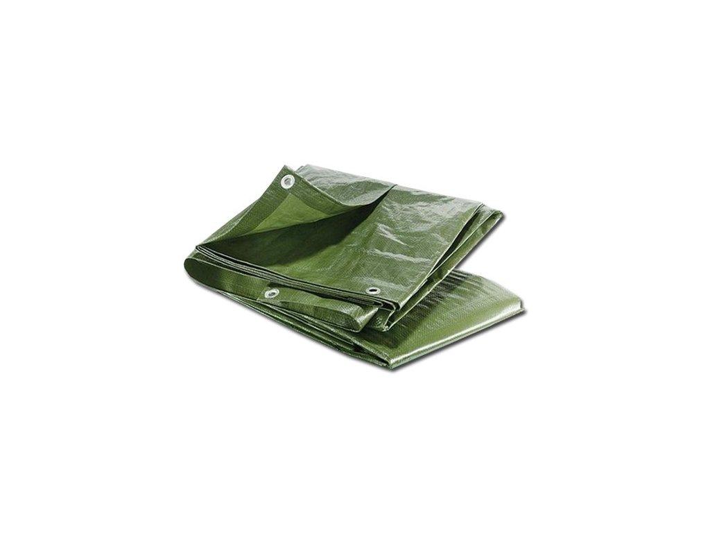 MAXPACK 23378 zakrývací plachta s oky 60g/m² 8x12m zelená