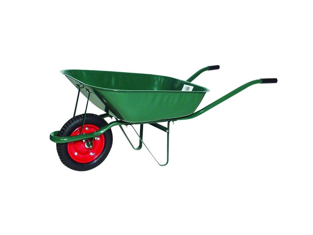 HUKA 11894 Kolečko zahradnické 60 l nafukovací nosnost 80 kg