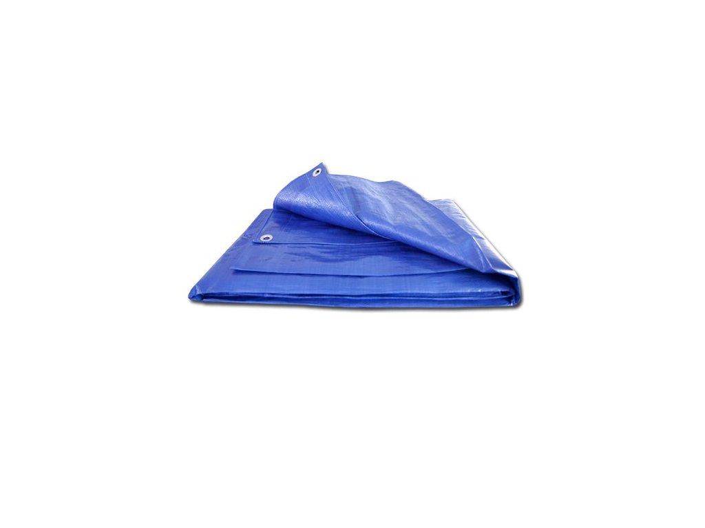 Maxpack 25350 Plachta zakrývací s oky 10x15 140g/m2 modrá