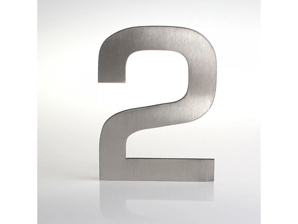 KATEON DCN2KE02 Euromode 2 Domovní číslo popisné, nerez