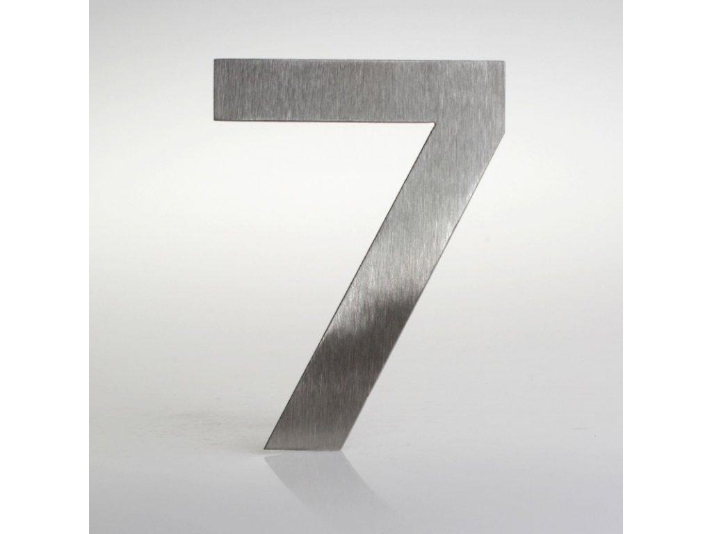 KATEON DCN2KE07 Euromode 7 Domovní číslo popisné, nerez
