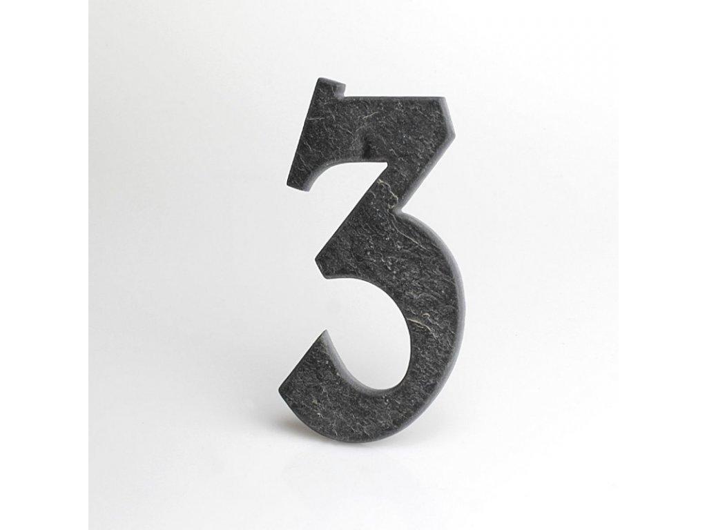 KATEON DCBCB03 Belwe 3 Domovní číslo popisné, břidlice