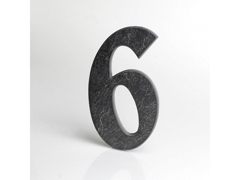 KATEON DCBCB06 Belwe 6 Domovní číslo popisné, břidlice
