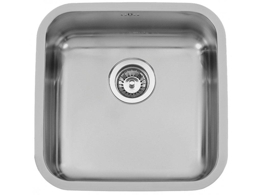 Dřez nerezový Sinks Bahia 440 V 0,8 mm spodní leštěný