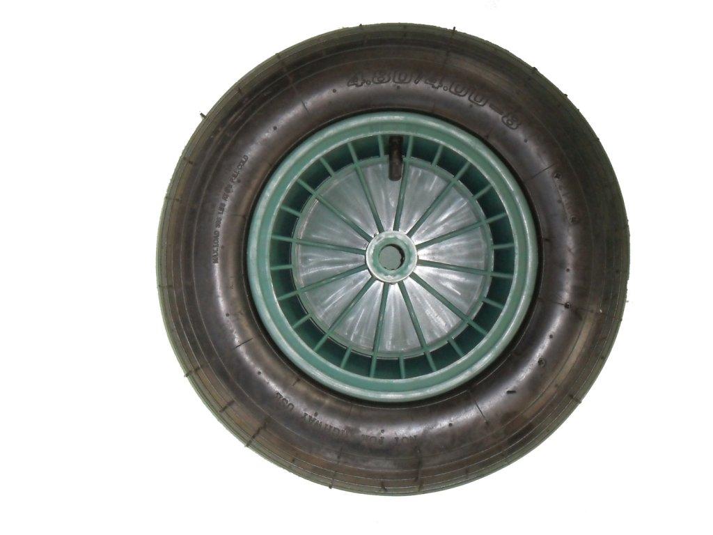 Eprodoma Kolo 400 mm náhradní na zahradní kolečko LIVEX zelené