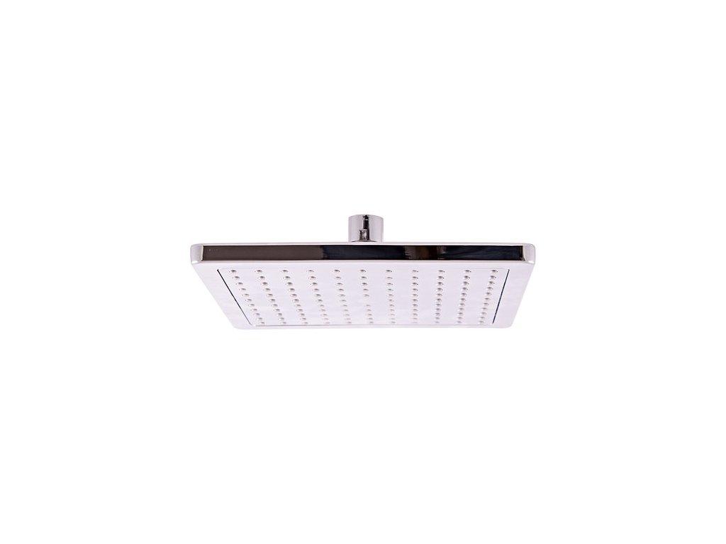 SLEZÁK RAV sprchová růžice pro pevnou sprchu 200x200 mm plast PS0051