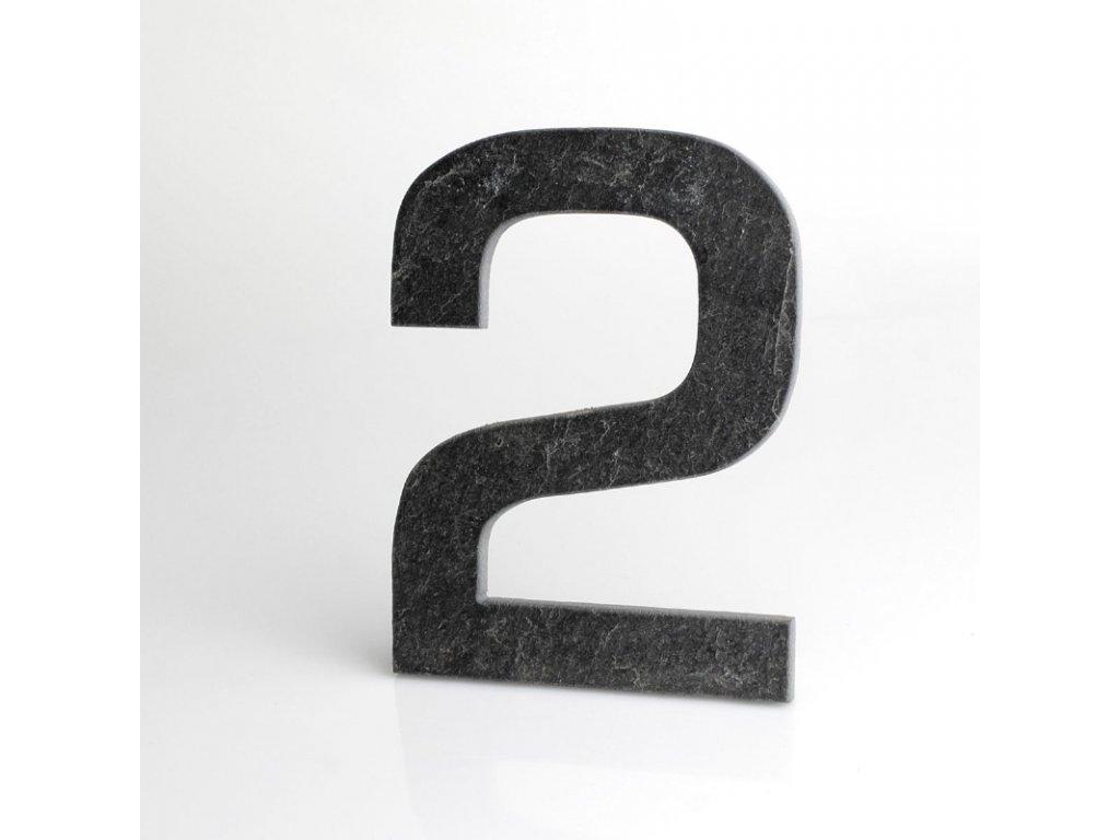 KATEON DCBCE02 Euromode 2 Domovní číslo popisné, břidlice