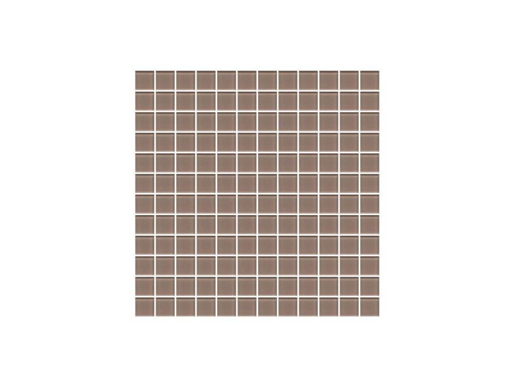 Maxwhite H28 Mozaika skleněná hnědá cappuccino 29,7x29,7cm