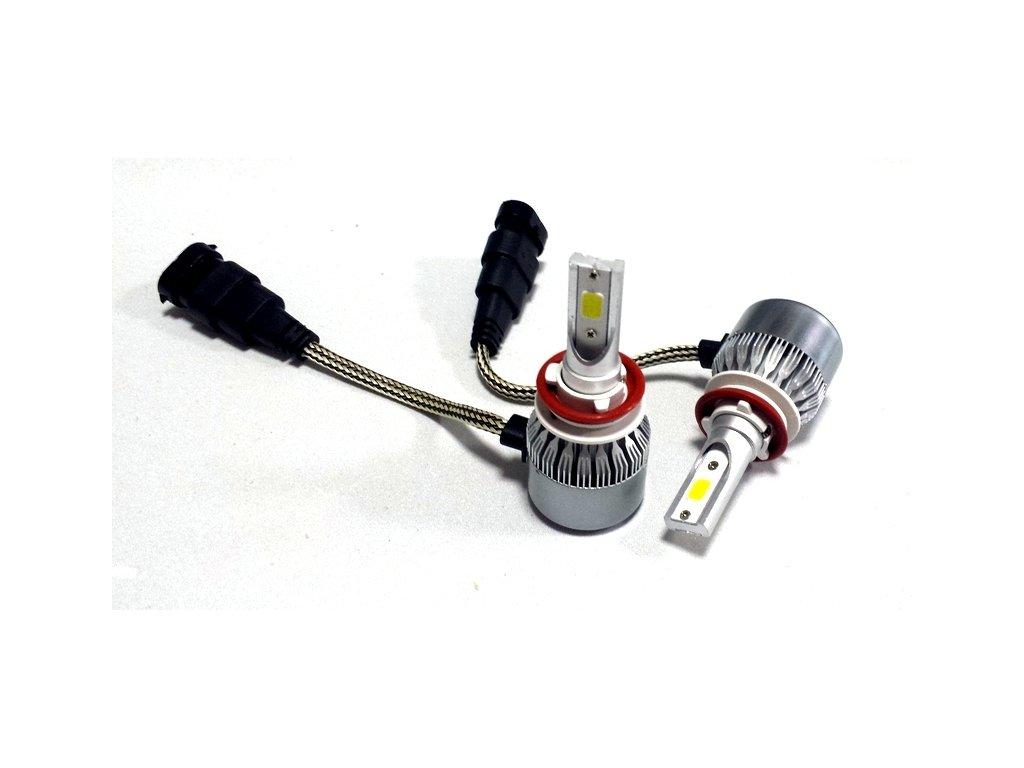 LED Headlight C6 H11 6000K 36W/3800LM 12V/24V