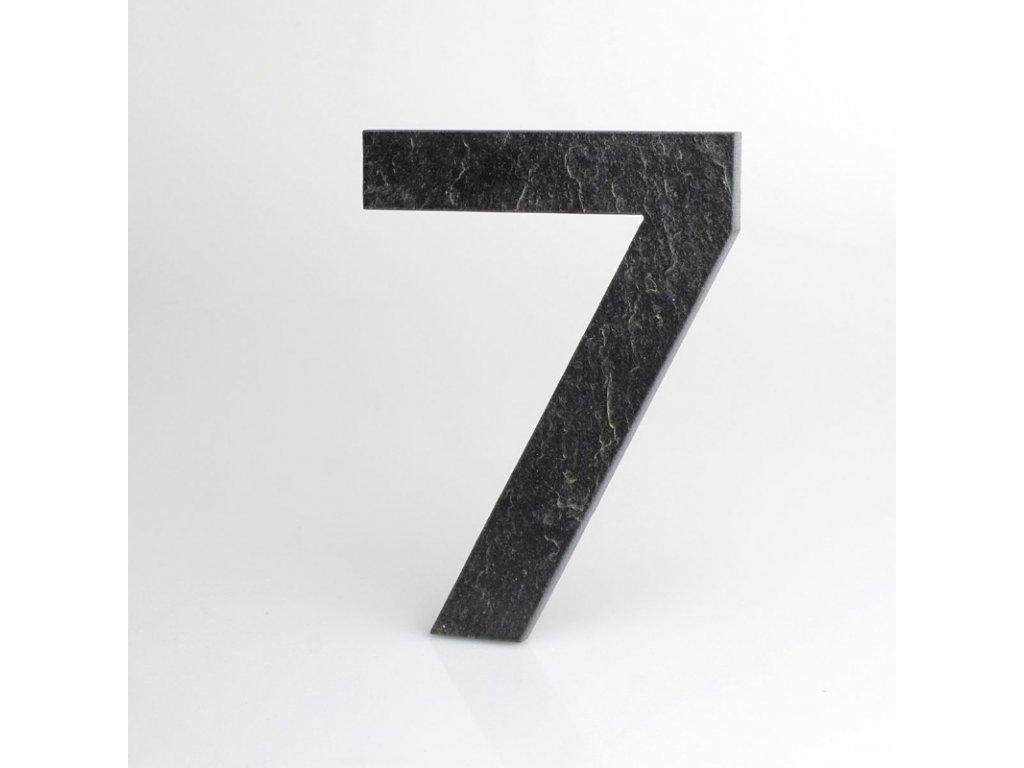 KATEON DCBCE07 Euromode 7 Domovní číslo popisné, břidlice