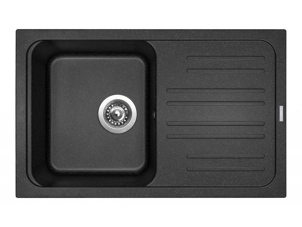 Dřez granitový Sinks Classic 740 Granblack