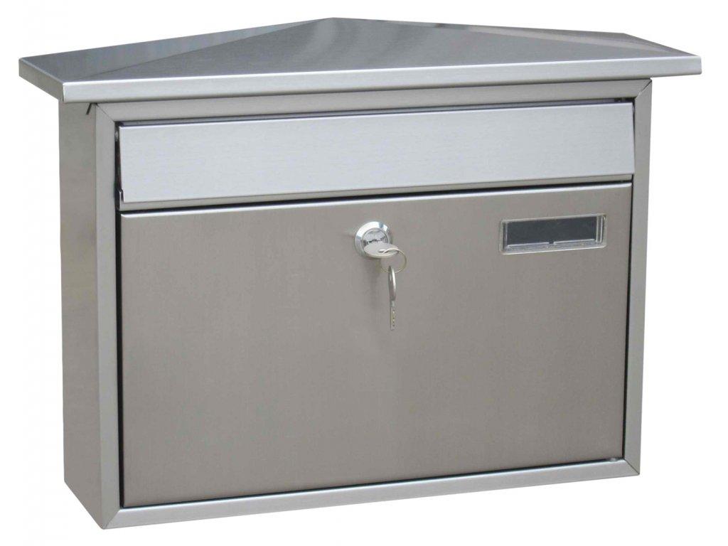 J.A.D. TOOLS Poštovní schránka nerezová TX0128