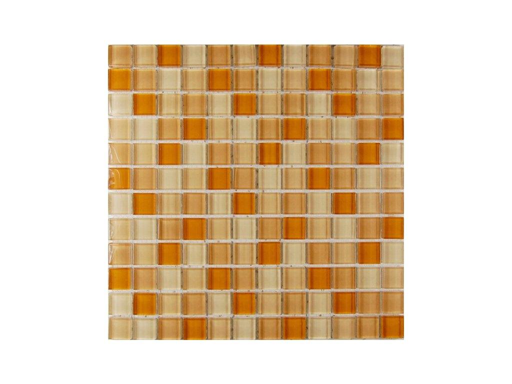 Maxwhite ASHS213 Mozaika skleněná žlutá mix 29,7x29,7