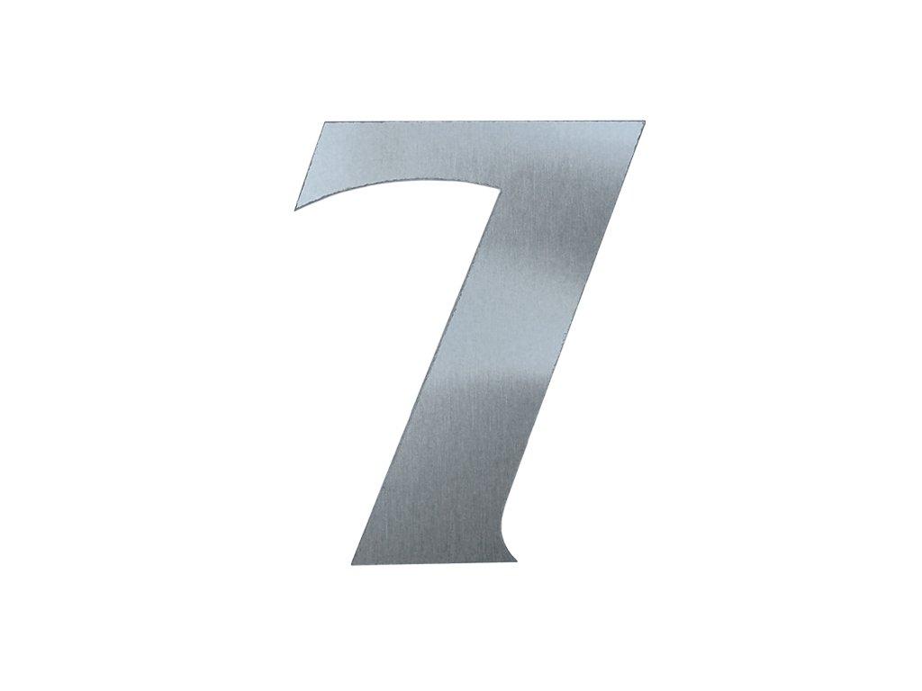 KATEON DCN2KF07 France 7 Domovní číslo popisné, nerez