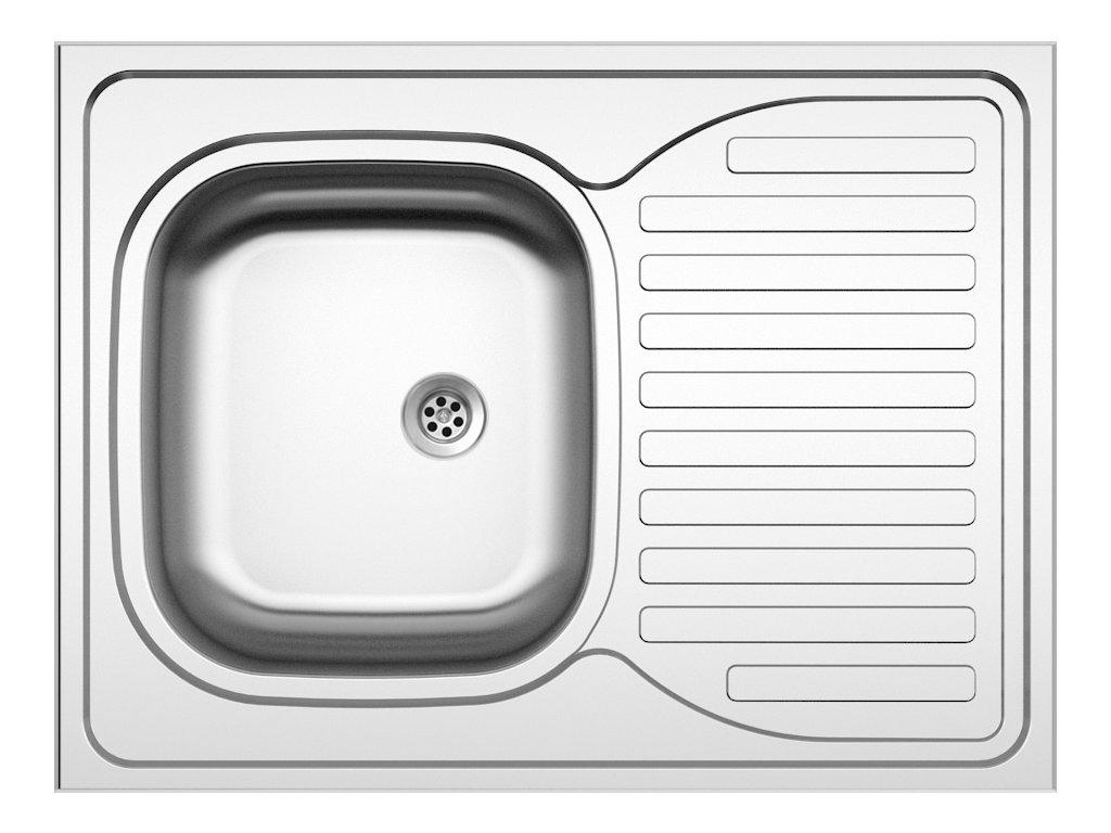 Dřez nerezový Sinks CLP-D 800 M 0,5mm matný