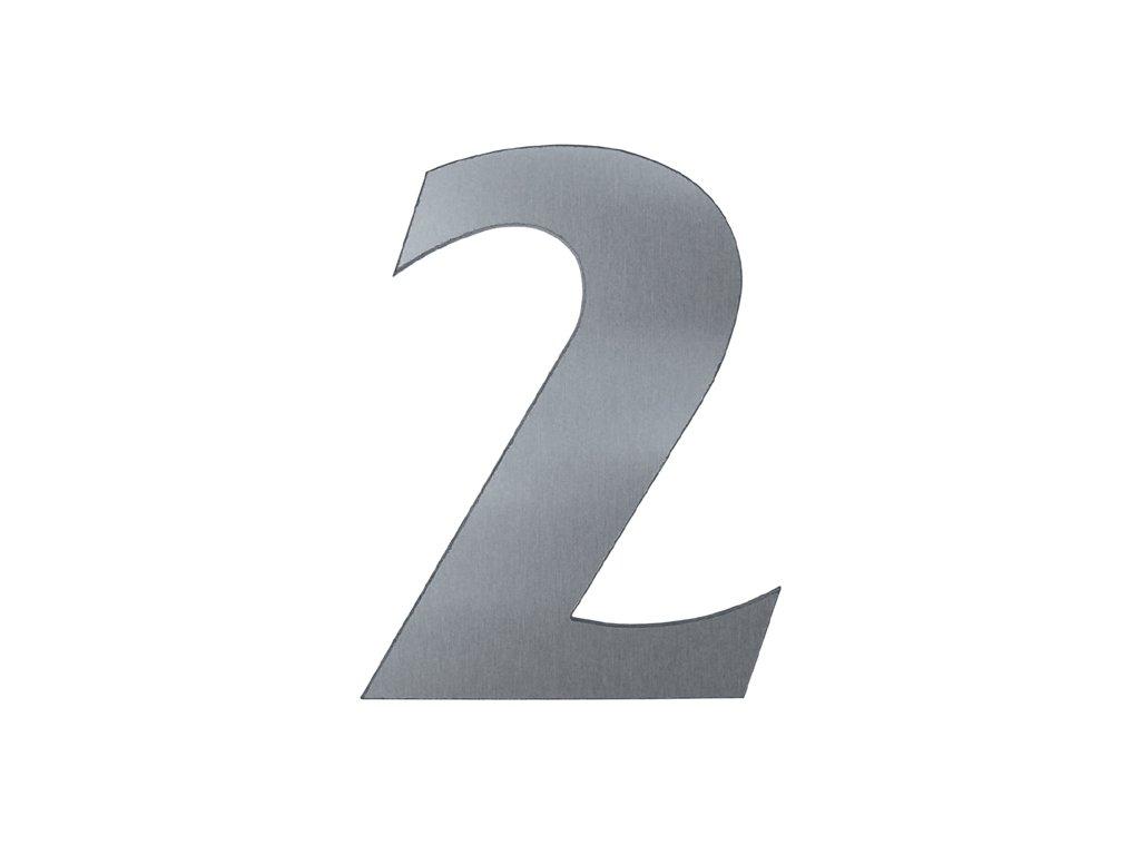 KATEON DCN2KF02 France 2 Domovní číslo popisné, nerez